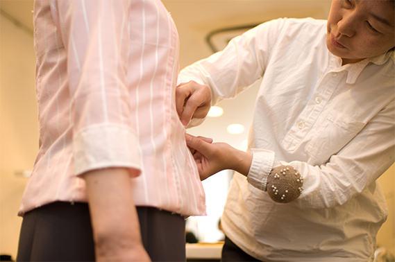 仮縫い オーダーメイドの洋服屋さん SU MISURA ス・ミズーラ