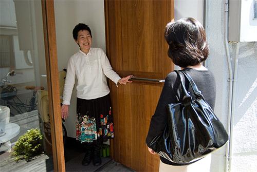 ご来店いただく オーダーメイドの洋服屋さん SU MISURA ス・ミズーラ
