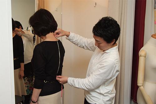 採寸 オーダーメイドの洋服屋さん SU MISURA ス・ミズーラ