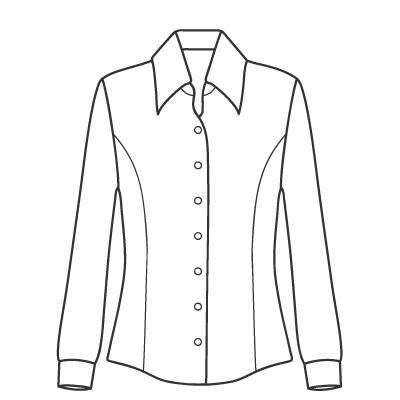 基本料金:シャツ・ブラウスデザイン例 オーダーメイドの洋服屋さん SU MISURA ス・ミズーラ